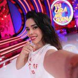 Beatriz Luengo se hace un selfie en 'Tu cara me suena 5'