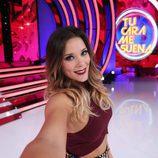 Lorena Gómez se hace un selfie en 'Tu cara me suena 5'