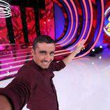 Canco Rodríguez se hace un selfie en 'Tu cara me suena 5'