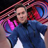 Carlos Latre se hace un selfie en 'Tu cara me suena 5'