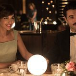 Ana Ribera y Mateo Ruiz en un restaurante juntos en 'Velvet'