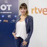 Gisela en la presentación de 'OT. El reencuentro'