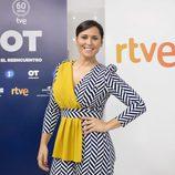 Rosa López posando en la presentación de 'OT. El reencuentro'