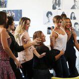 Parte de las triunfitas cantando y bailando durante 'OT. El reencuentro'