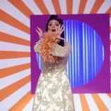 Lorena Gómez interpretando 'Tengo miedo' de Marifé de Triana en 'Tu cara me suena'