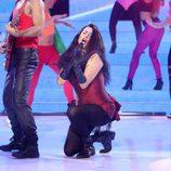 Yolanda Ramos interpretando 'Ritmo de la noche' de Mystic en 'Tu cara me suena'