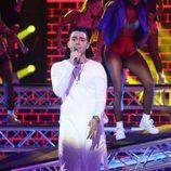 David Guapo interpretando a Joey Montana en 'Tu cara me suena'