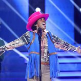 Beatriz Luengo canta 'I´ll be there' de Michael Jackson en 'Tu cara me suena'