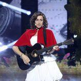 Esther Arroyo interpretando a Julieta Venegas en 'Tu cara me suena'