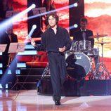 Blas Cantó interpretando a Raphael en 'Tu cara me suena'