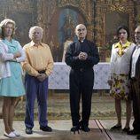 Ana Duato, Juan Echanove y Ana Arias en 'Y la cigüeña dijo sí'