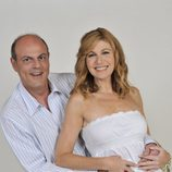 Asun (Silvia Gambino) y Emilio (Santiago Urrialde),