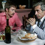 Los actores Pablo Rivero e Imanol Arias de la serie 'Cuéntame cómo pasó'