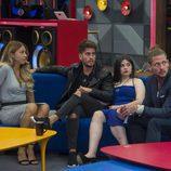 Rebeca, Rodrigo, Noelia y Fer en la 6ª gala de 'Gran Hermano 17'