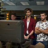 Rodrigo, Miguel y Pol en El Club