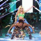 Beatriz Luengo es Britney Spears en 'Tu cara me suena'