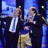 Juan Muñoz canta con Dyango en 'Tu cara me suena'