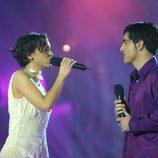 """David Bustamante y Chenoa cantan """"Te quiero, te quiero"""" en 'Operación triunfo 1'"""