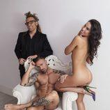 Rafa Mora se desnuda junto a Macarena para Torito en Primera Línea