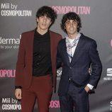 Javier Ambrossi y Javier Calvo en los Premios Cosmopolitan 2016