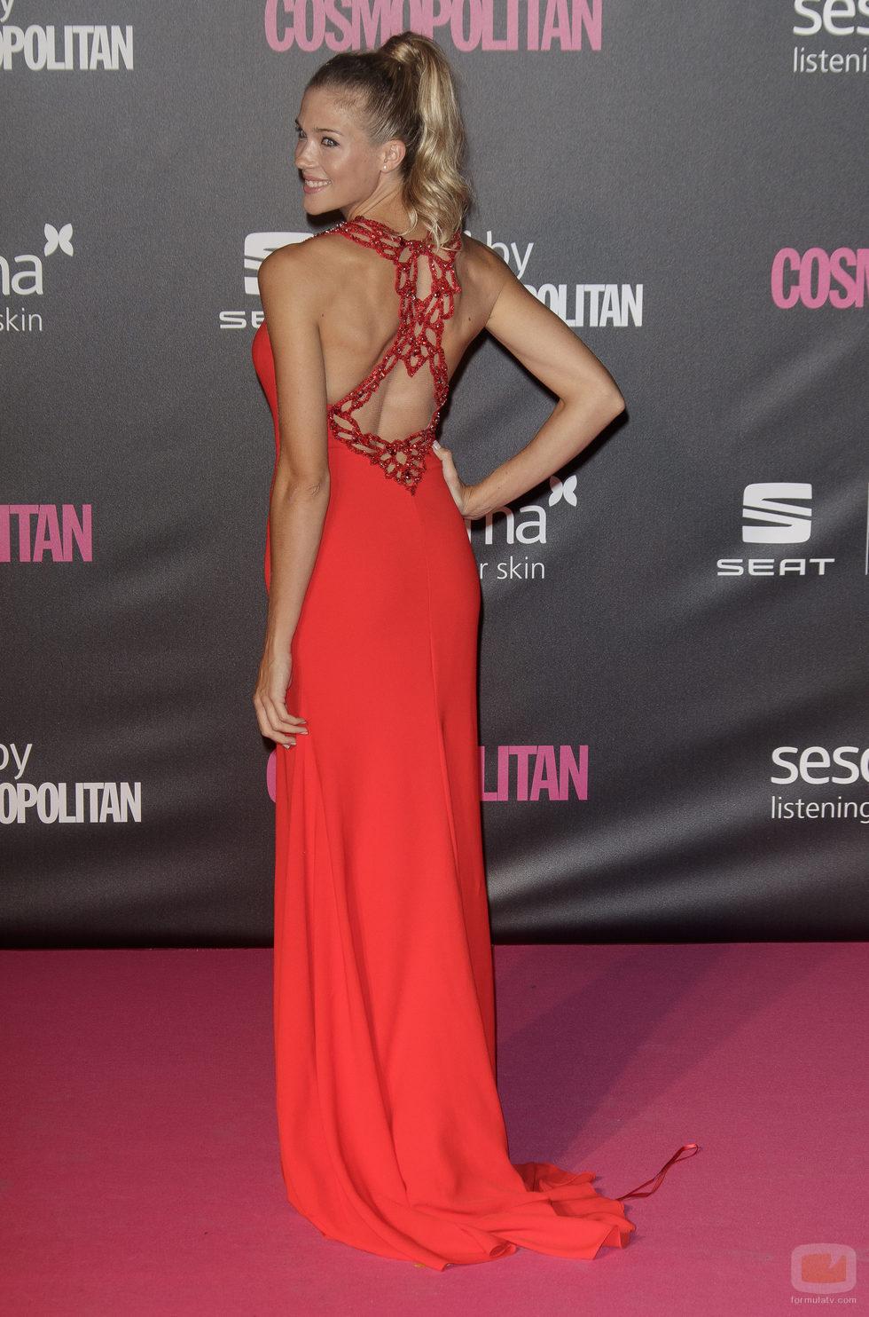 Patricia Montero en los Premios Cosmopolitan 2016