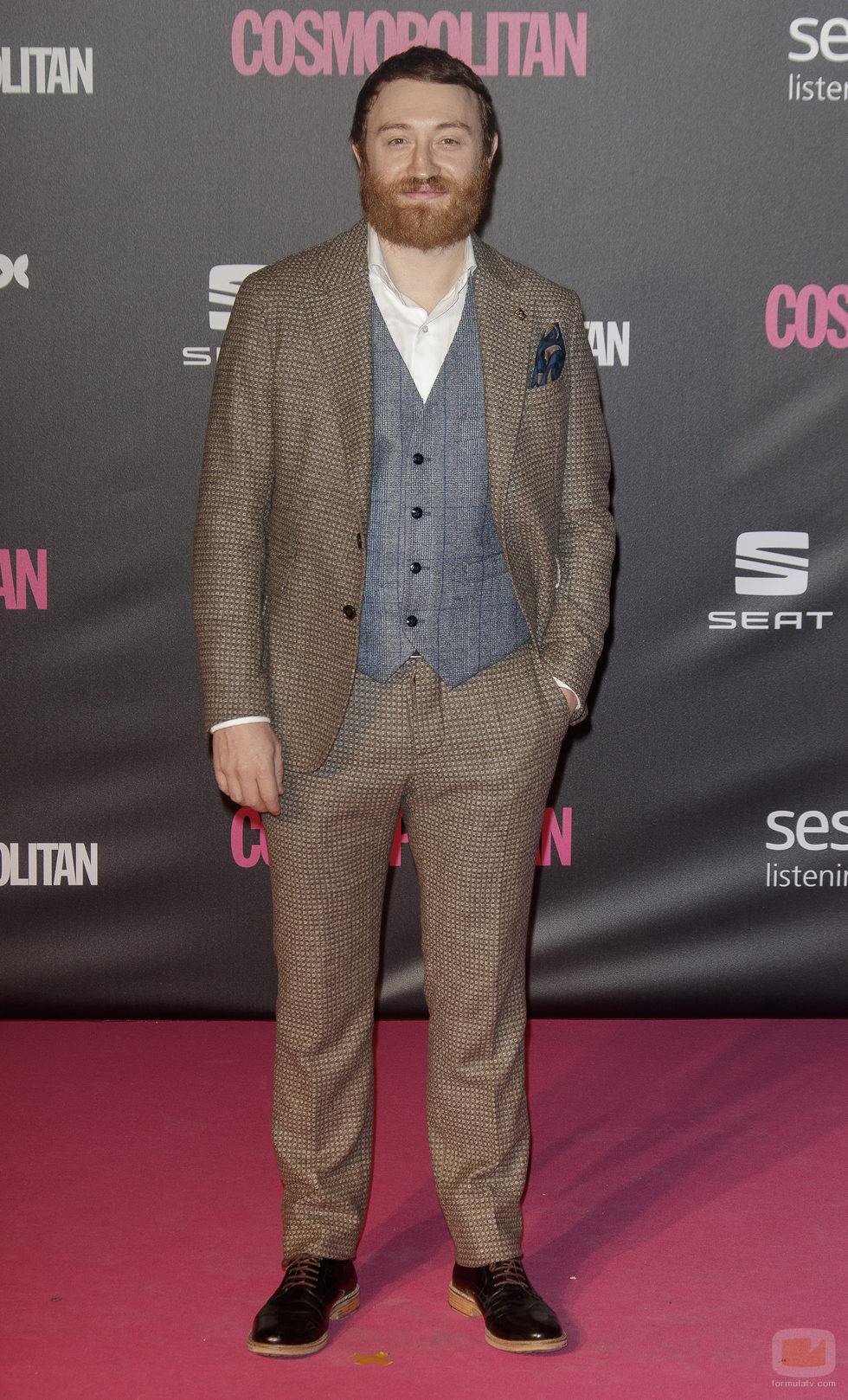 Manuel Burque en los Premios Cosmopolitan 2016