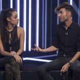 Miguel y Adara acercan posturas en 'Gran Hermano 17'