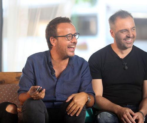Àngel Llácer y Juan Camus durante la segunda parte de 'OT. El reencuentro'