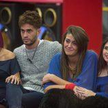 Bea, Rodrigo, Clara y Noelia se despiden de Fernando en 'Gran Hermano 17'