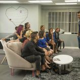 Jesús Vázquez habla con los concursantes de 'Gran Hermano 17'