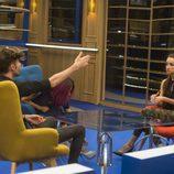 Adara, Miguel y Bea en el Club de 'Gran Hermano'