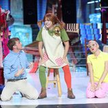 Yolanda Ramos es Pippi Calzaslargas en 'Tu cara me suena'