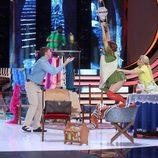 Yolanda Ramos y su desternillante actuación en 'Tu cara me suena'