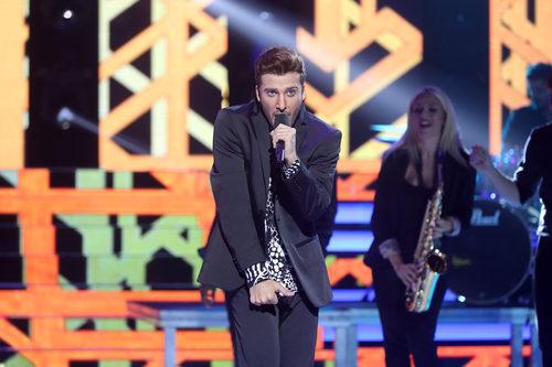 Blas Cantó es Justin Timerlake  en 'Tu cara me suena'