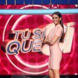 Cristina Pedroche estrena el plató de 'Tú sí que sí'
