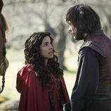 Margarita y Gonzalo juntos en el último episodio de 'Águila Roja'