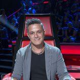 Alejandro Sanz en las primeras batallas de la cuarta temporada de 'La Voz' en Telecinco