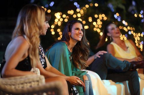 Nuria Fergó sonriente en la última entrega de 'OT. El reencuentro'