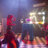 Bea llega a la sala de los payasos en la 8ª gala de 'Gran Hermano 17'
