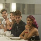 Los concursantes reciben la cena de la 8ª gala de 'Gran Hermano'