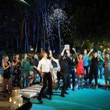 Todos los triunfitos celebrando el final de 'OT. El reencuentro'