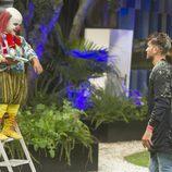 Rodrigo se encuentra con Payasín en 'Gran Hermano'