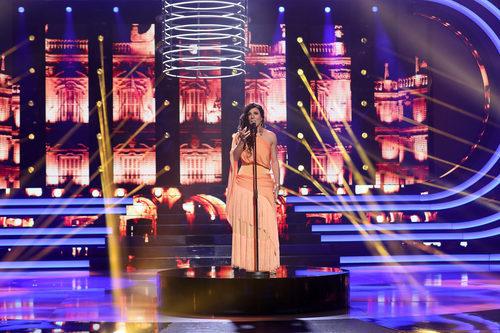 Blas Cantó se vistió de Diana Navarro en la cuarta gala de 'Tu cara me suena'