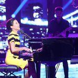 Beatriz Luengo da vida a Alicia Keys en la cuarta gala de 'Tu cara me suena'