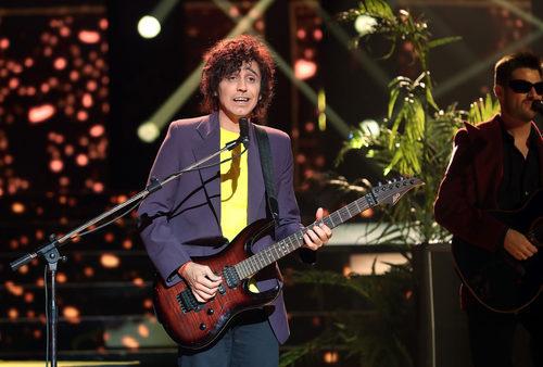 Canco Rodríguez se viste de Antonio Vega en la cuarta gala de 'Tu cara me suena'