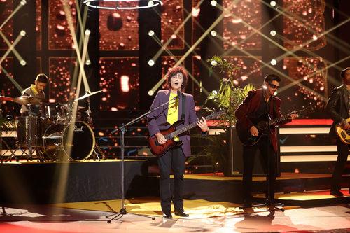 Canco Rodríguez interpreta a Antonio Vega en la cuarta gala de 'Tu cara me suena'