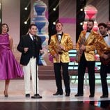 Juan Muñoz se viste de Louis Prima en la cuarta gala de 'Tu cara me suena'