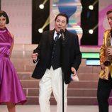 Juan Muñoz interpreta a Louis Prima en la cuarta gala de 'Tu cara me suena'