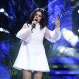 Diana Navarro interpreta a Lana del Rey durante la cuarta gala de 'Tu cara me suena'