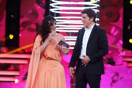 Blas Cantó, ganador de la cuarta gala de 'Tu cara me suena'